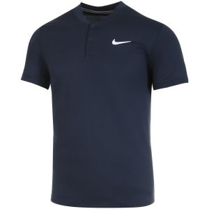 Polo Homme Nike Dry Team - Marine - 2 Boutons
