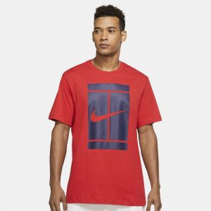 T-Shirt Homme Nike Graphic Court  Rouge