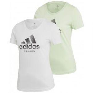 T-Shirt Dame Adidas Logo Tennis
