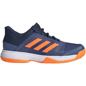 Chaussures Junior Adidas Adizero Club - Marine/Orange - Toutes surfaces