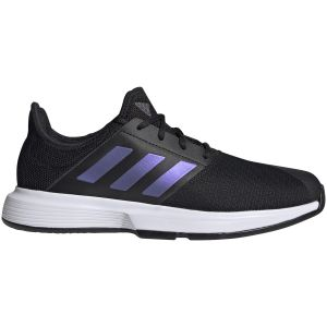 Chaussures Homme Adidas SoleMatch Bounce Marine/Blanc - Toutes surfaces
