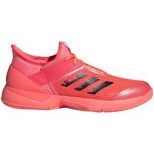 Chaussures Dame Adidas Adizero Ubersonic 3 Corail - Toutes surfaces