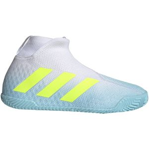 Chaussures Homme Adidas Stycon Blanc/Ciel - Toutes surfaces