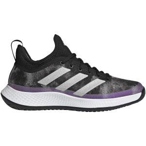 Chaussures Dame Adidas Defiant Noir/Violet - Toutes surfaces