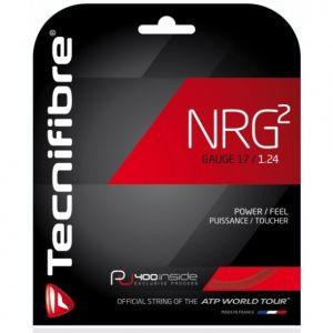 Cordage Tecnifibre NRG 2 - Puissance et Durabilité - 12m Noir