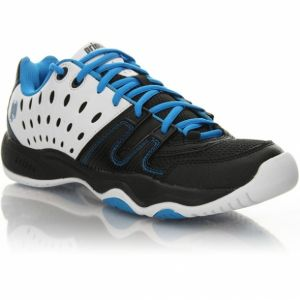 Chaussures Prince Junior T22 Blanches/Bleues