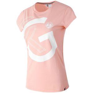 T-Shirt Dame Roland-Garros - RG Rose