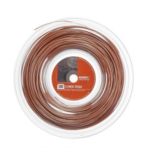 Cordage Luxilon Element Rough 1,30 - 200 m 16 raquettes env. - Bronze