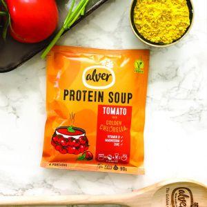 Soupe à la Tomate Riche en Protéines 100% Naturelle – Vegan - Elaboré en Suisse - Vendu par lot de 10