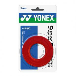 Surgrip Yonex Pack de 3 Rouge