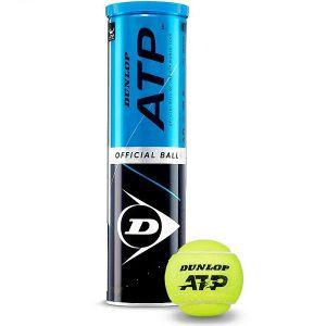 Balles Dunlop Tube x4 Balles ATP Tour - Rome et Masters de Londres