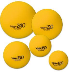 Balle en Mousse légère Kids tennis - 5 tailles différentes 70/90/120/150/210 mm