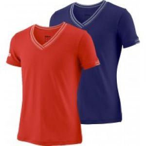 T-shirt Fille Wilson Compétition