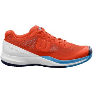 Chaussures Homme Wilson Rush Pro 3.0 Rouge - TERRE BATTUE