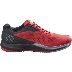 Offre spéciale : Chaussures Homme Wilson Rush Pro 3.5 Rouge/Noir - Toutes surfaces - 46.5