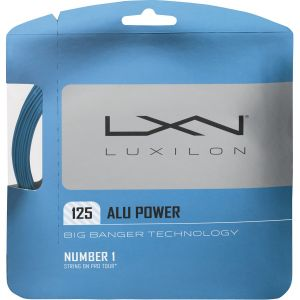 Luxilon Alu Power Big Banger ATP / WTA Tour - Ice Bleu 1,25 ou 1,30
