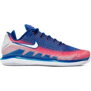 Chaussures Homme Nike Air Zoom Vapor X Knit Bleu/Corail - Toutes surfaces - Pointure 42