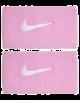 Serre-poignets absorbants Nike Rafa Rose/Blanc
